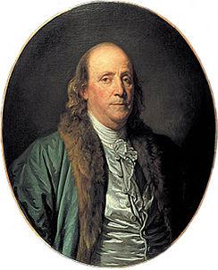 Benjamin Franklin By Jean Baptise Greuze