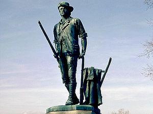 Minute Man Statue, Shot Heard Round the World