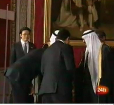 Obama bows to saudi king.  http://www.wnd.com/index.php?fa=PAGE.view&pageId=93696